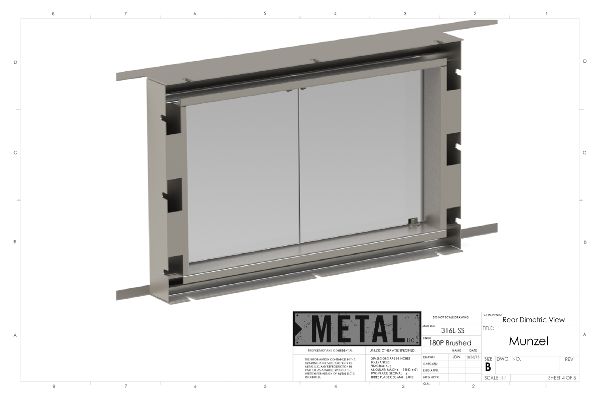stainless fireplace insert metal design u0026 fabrication jackson wy