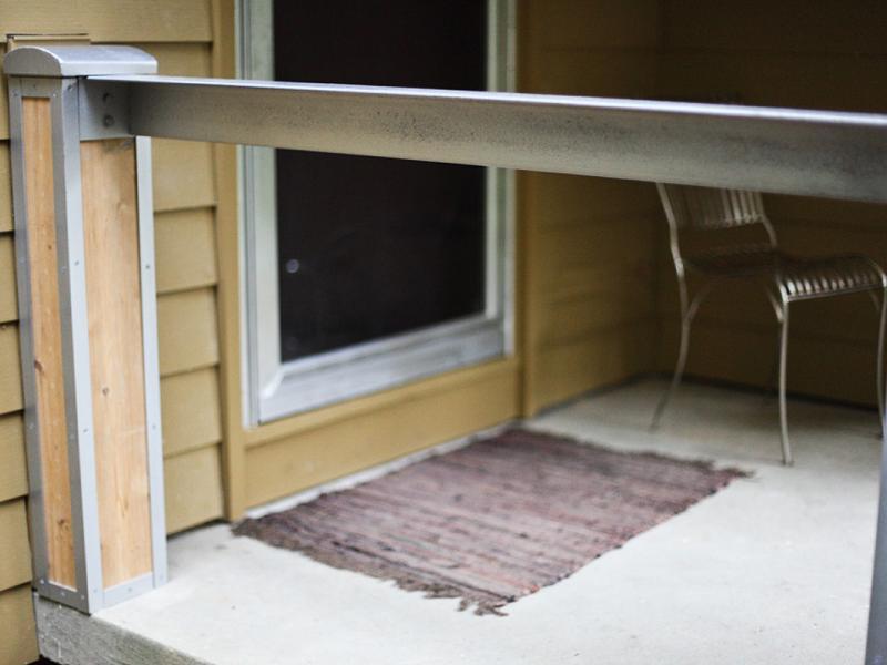 Angle Railing, Ann Arbor, MI
