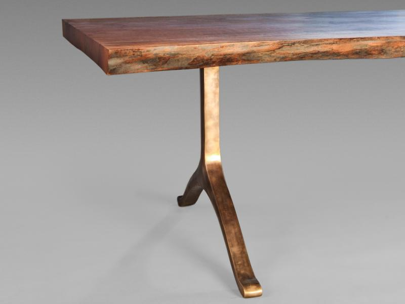 Bronze Table Legs