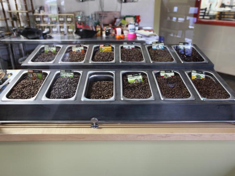 Zingerman's Coffee Display