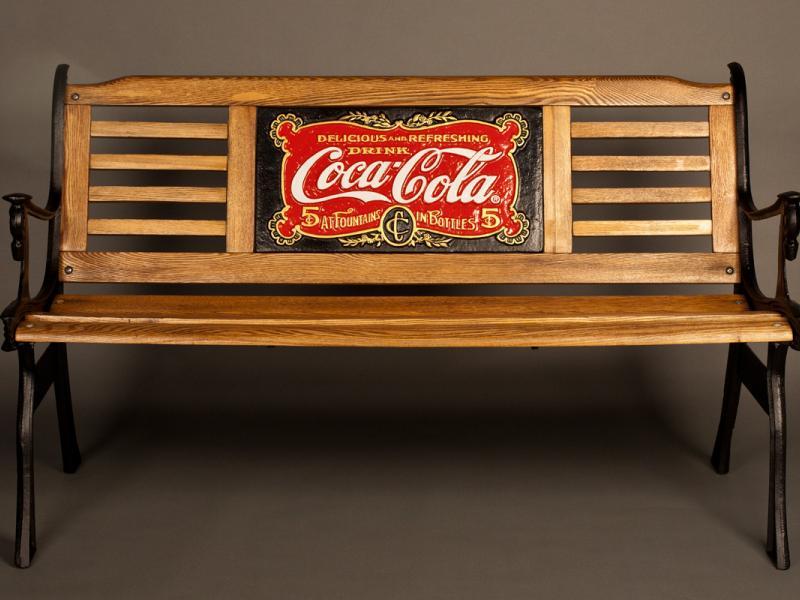 1904 Coca-Cola Bench