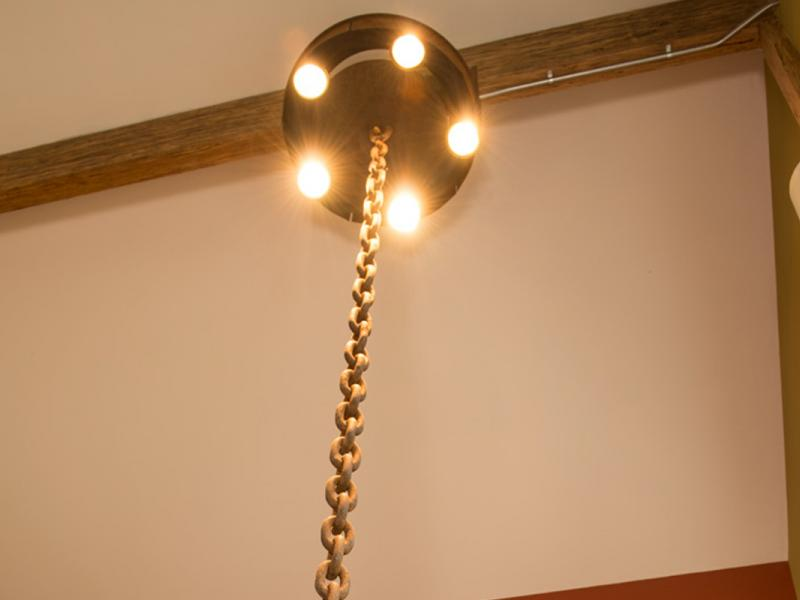 Corten Accent Lighting