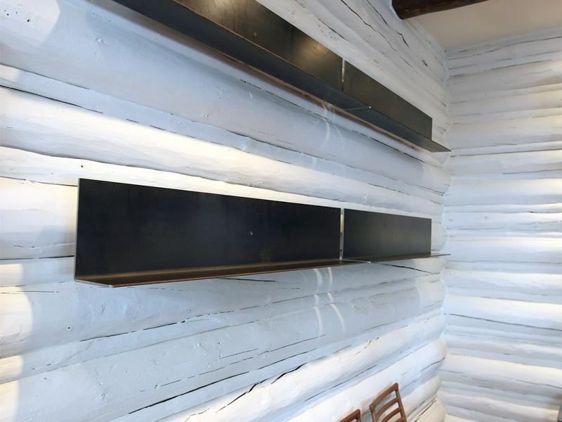 Floating Plate Shelves