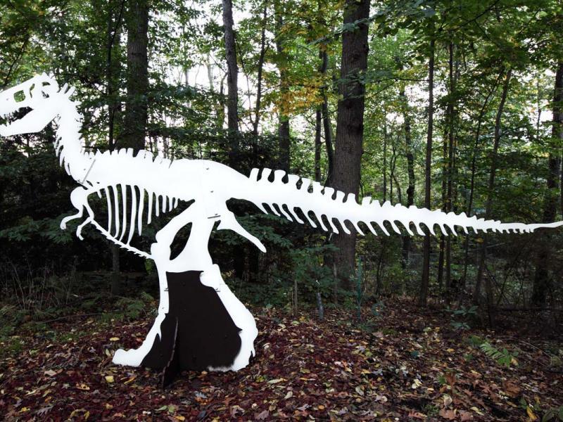 T-Rex Dinosaur Sculpture