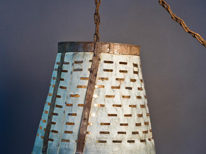 Olive Basket Lamp