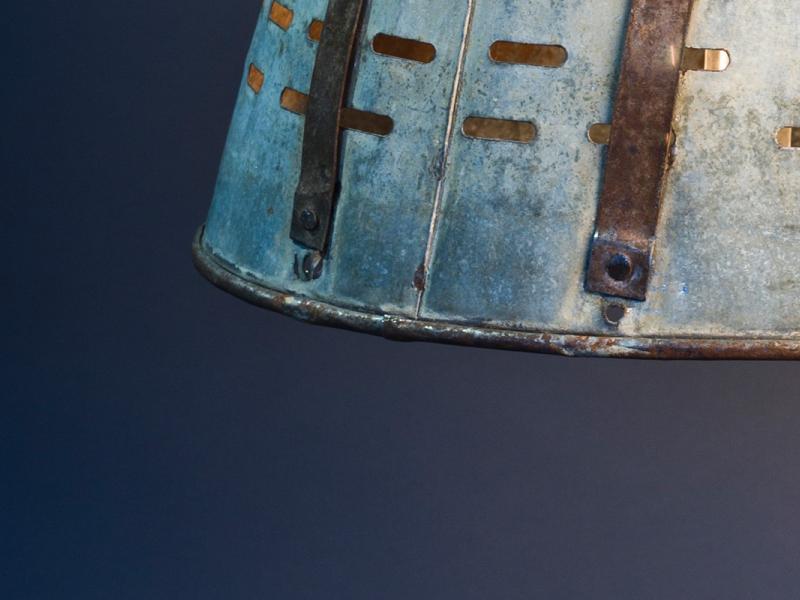 Olive Basket Lamp