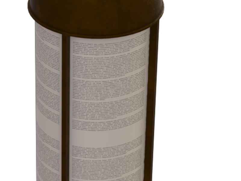 Barrel Reader Bronze Construction