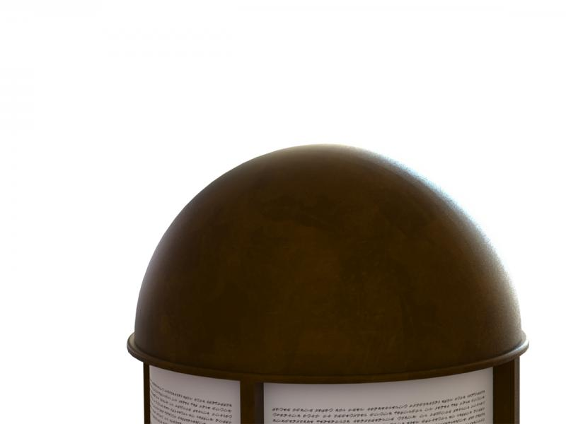 Barrel Reader Bronze Construction