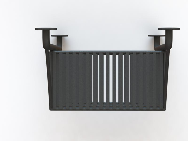 Forged Kitchen Shelves