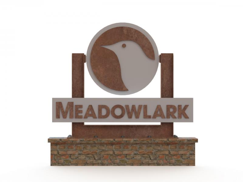Meadowlark Builders Sign