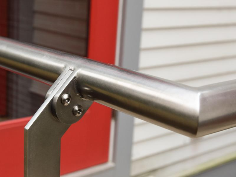 Stainless Steel Exterior Railing