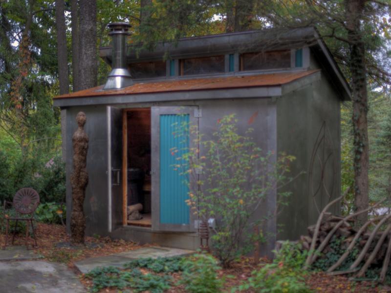 Corten Steel Sauna