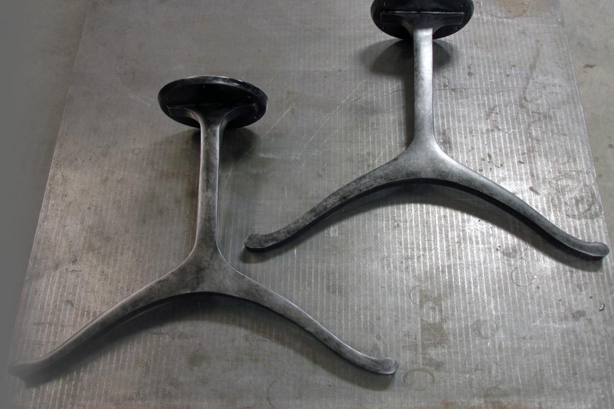 Aluminum Wishbone Legs